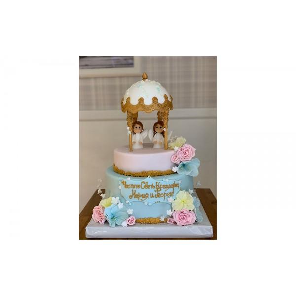 Торта Две ангелчета