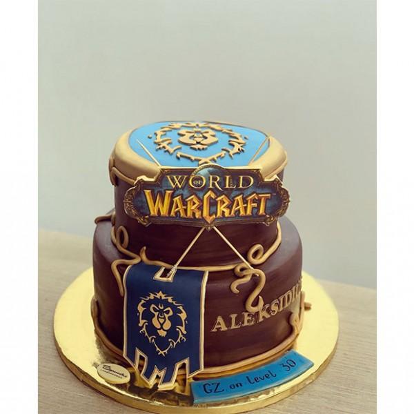 Торта World of Warcraft
