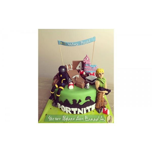 Торта Fortnite 3