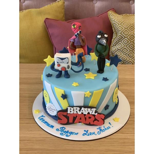 Торта Brawl Stars 7
