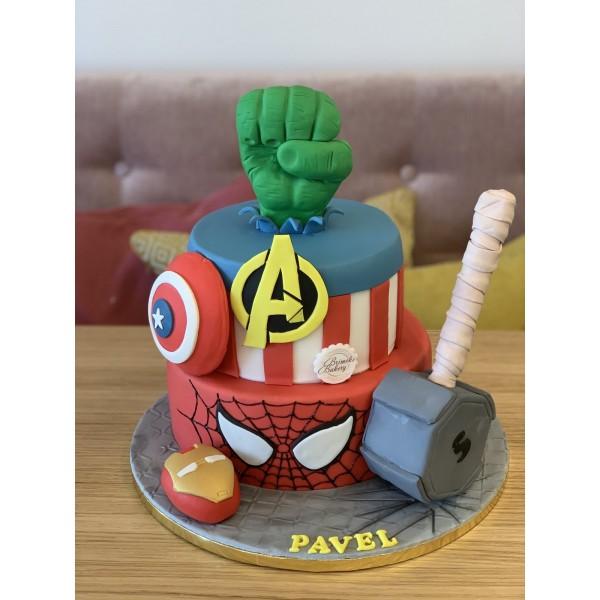 Торта Супергерои 9