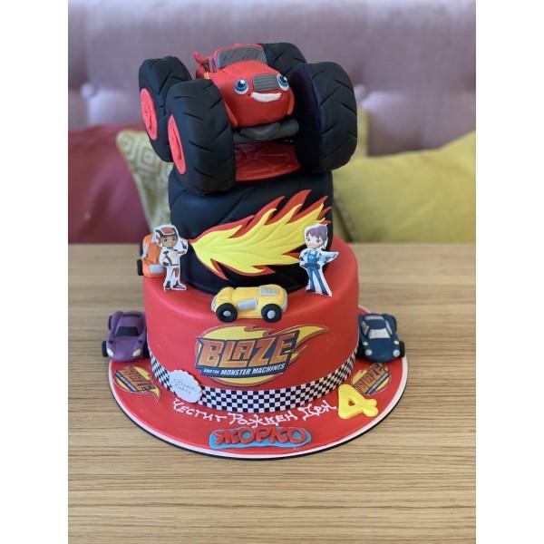 Торта Пламъчко 7