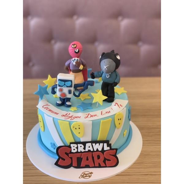 Торта Brawl Stars 8