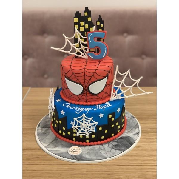 Торта Спайдърмен 4