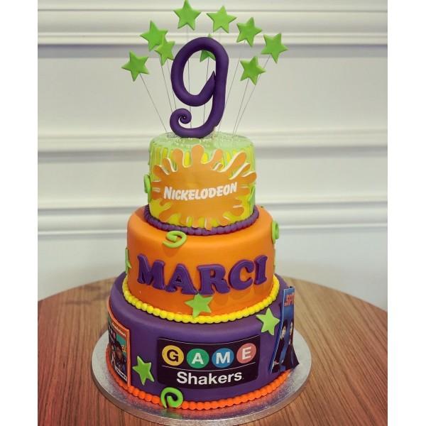 Торта Nickelodeon