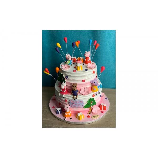 Торта Peppa Pig - Торти за момичета