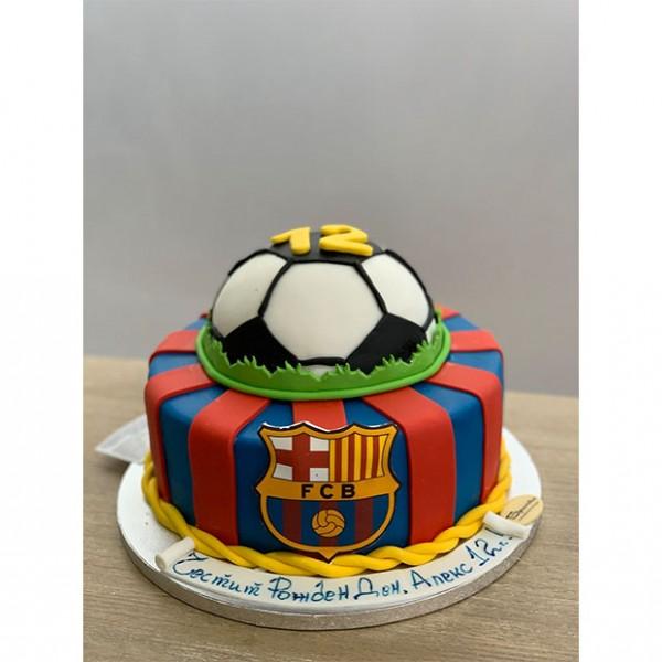 Торта Футболен клуб Барселона