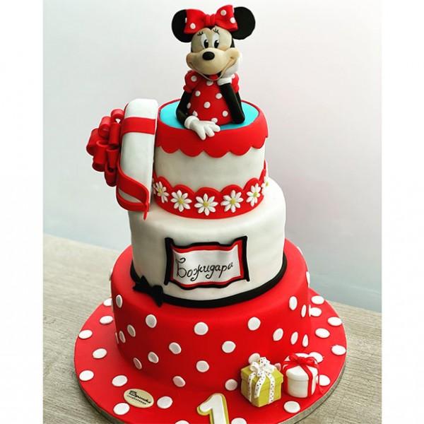 Торта Мини Маус Подарък
