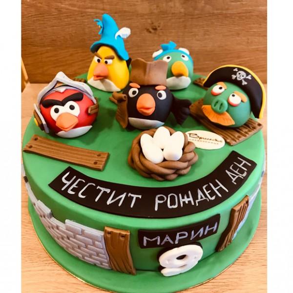Торта Angry Birds