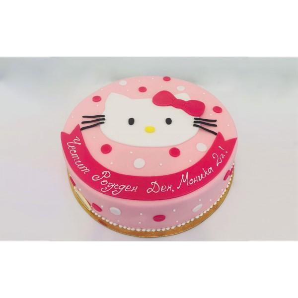 Торта Hello Kitty - Торти за момичета
