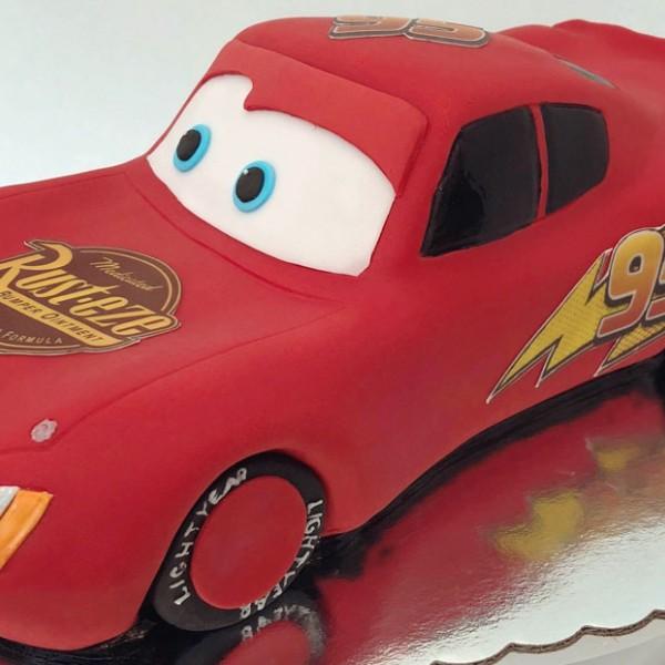 Торта Cars Mcqueen