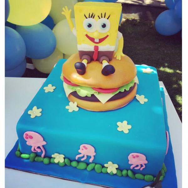 Торта Спондж Боб