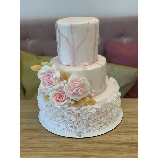 Сватбена торта - 10   Сватбени торти   Консултация и Дегустация