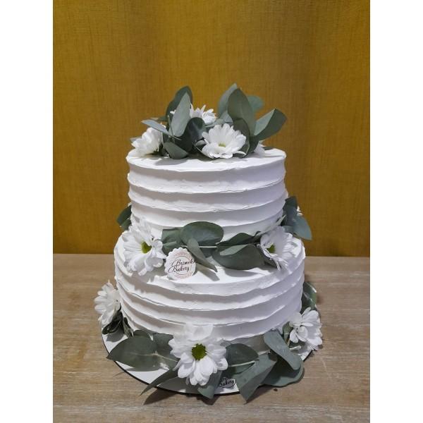Сватбена торта - 12   Сватбени торти   Консултация и Дегустация