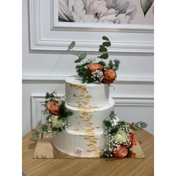 Сватбена торта - 13 | Сватбени торти | Консултация и Дегустация