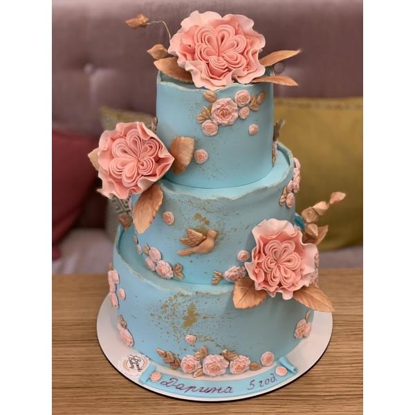 Сватбена торта - 14 | Сватбени торти | Консултация и Дегустация