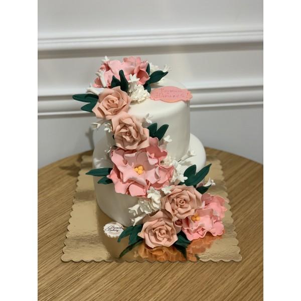 Сватбена торта - 15   Сватбени торти   Консултация и Дегустация