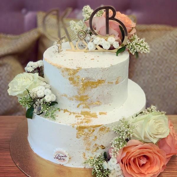 Сватбена торта - 8   Сватбени торти   Консултация и Дегустация