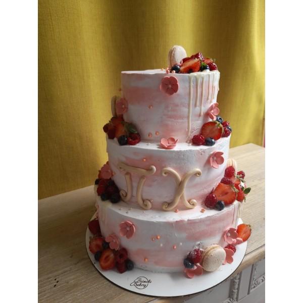 Сватбена торта - 9   Сватбени торти   Консултация и Дегустация