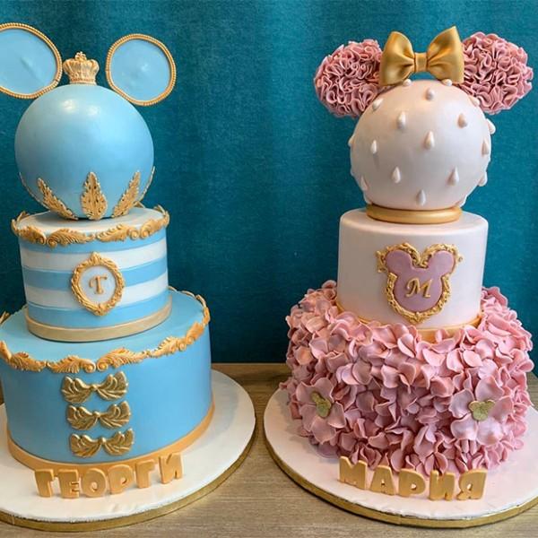 Торта Мики и Мини